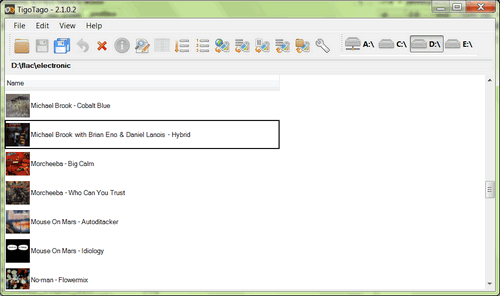 Click to view TigoTago 2.2.0.1 screenshot